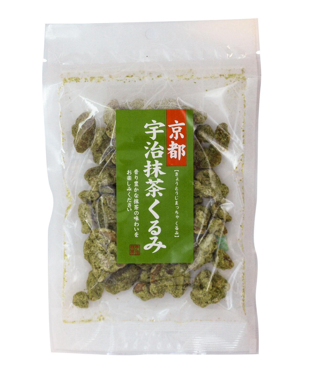 京都宇治抹茶くるみ 75g